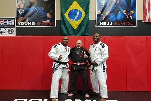 Professors Ron Hill and his brother James Hill - 4o Degree, BJJ Black belts (2)